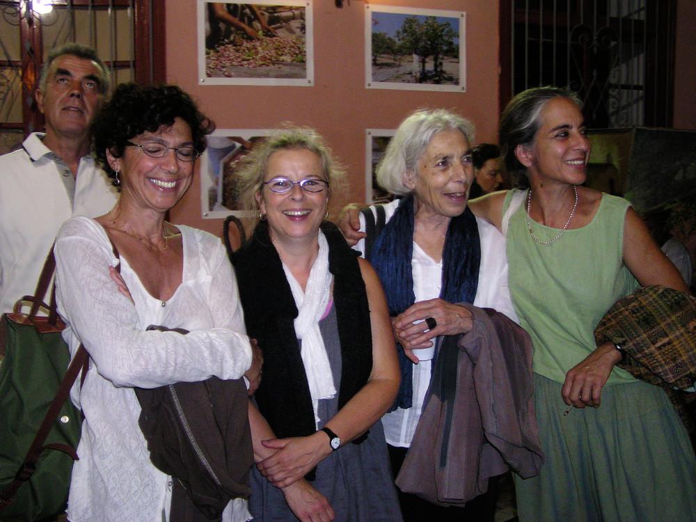 Margarita Ecclissiarchou, Fabienne Gioria, Aline Favre, Theo Chorafas